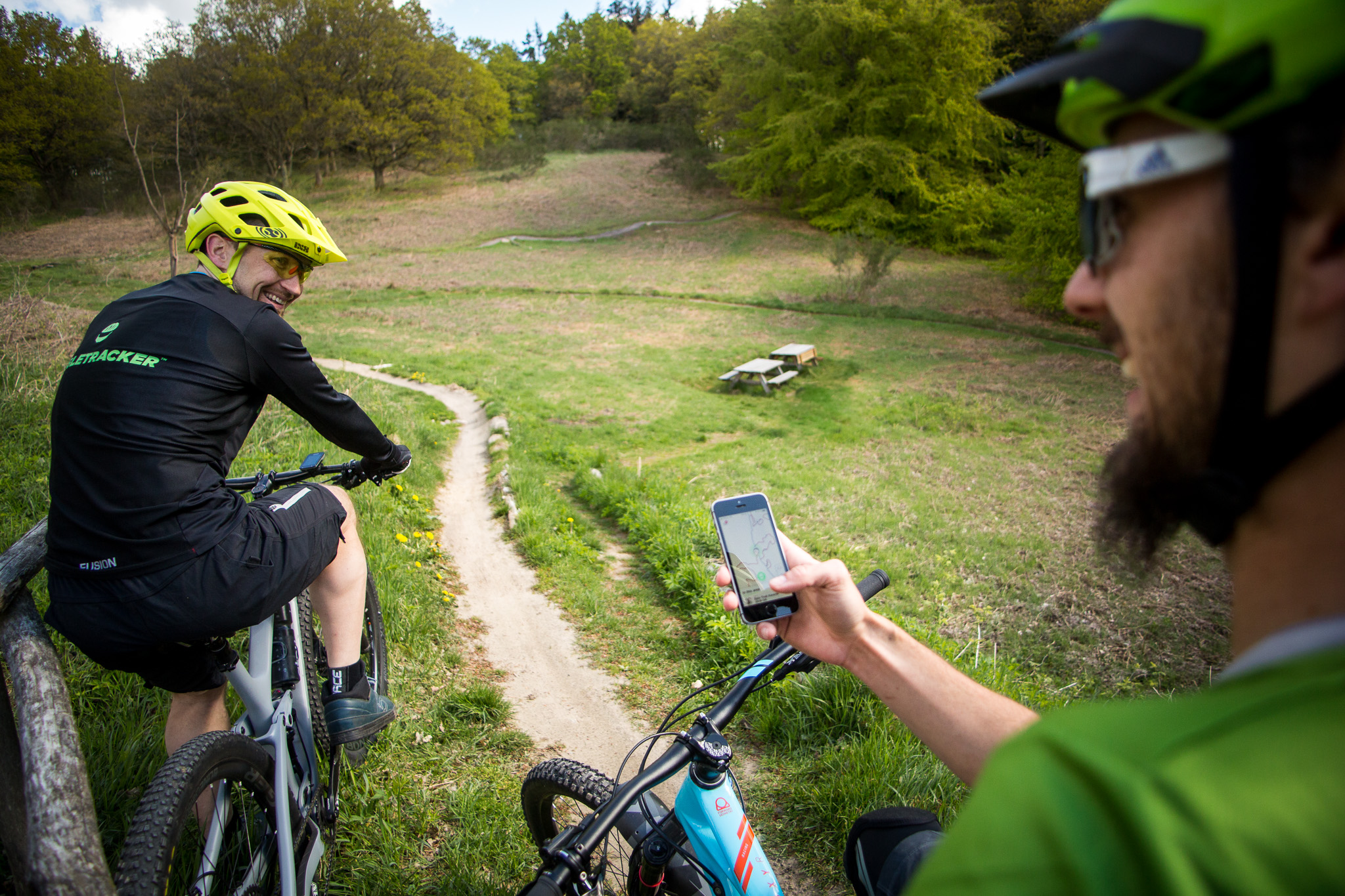 gratis mtb tracking app singletracker